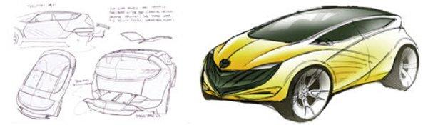 Encore un concept-car Mazda !