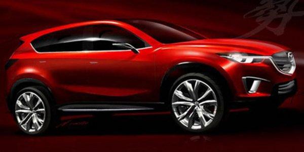 Mazda Minagi à Genève, futur CX-5