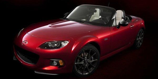Une série spéciale pour les 25 ans du Mazda MX-5