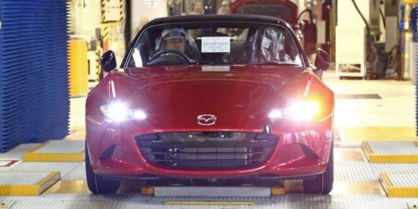 Nouveau Mazda MX-5 : la production est lancée !