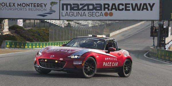 Une Mazda MX-5 Cup safety-car présentée à Monterey