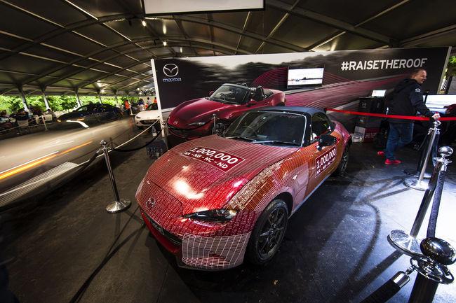 Retour au Japon pour la millionième Mazda MX-5