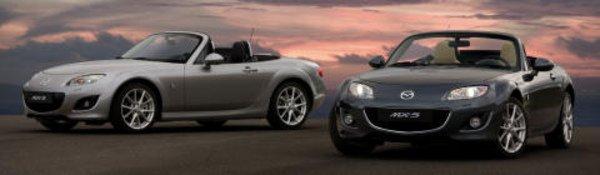 La Mazda MX-5 se repoudre le nez