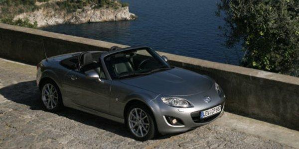 Mazda MX-5 récompensé au Royaume-Uni