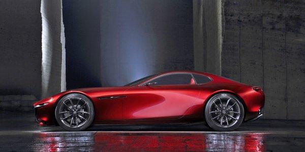 Concept Mazda RX-Vision : le moteur rotatif en prime