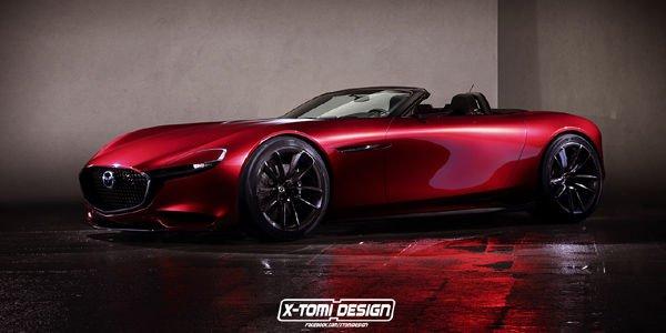 Mazda RX-Vision Roadster par X-Tomi
