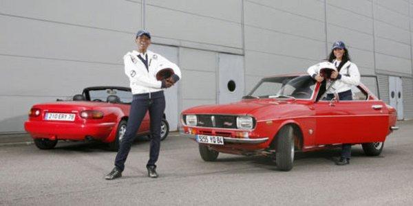 Mazda au Rallye des Princesses