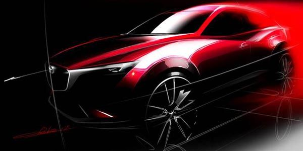 Mazda présentera son Crossover CX-3 à Los Angeles
