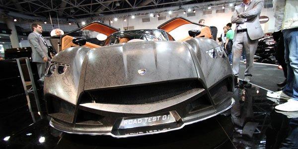 Top Marques Monaco 2014 : Mazzanti Evantra V8