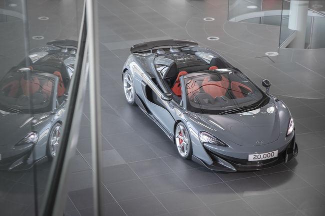 McLaren passe le cap des 20 000 voitures produites