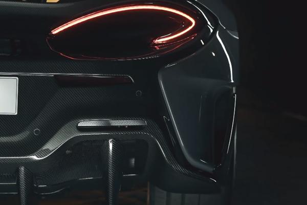 McLaren 570 LT : nouveau teaser
