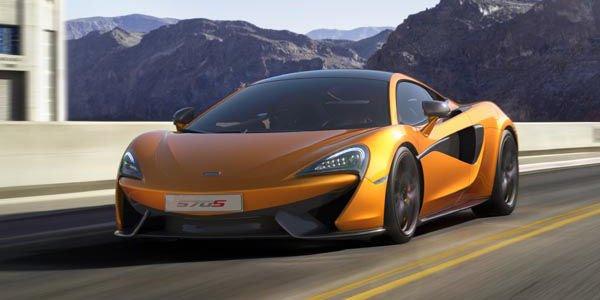 La McLaren 570S a son configurateur