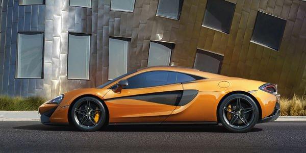 Une McLaren 570S GT4 en préparation ?