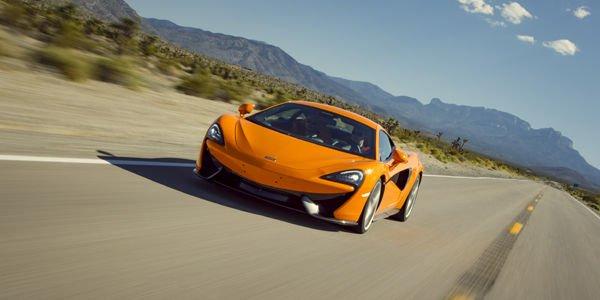 McLaren 570S et 540C en approche
