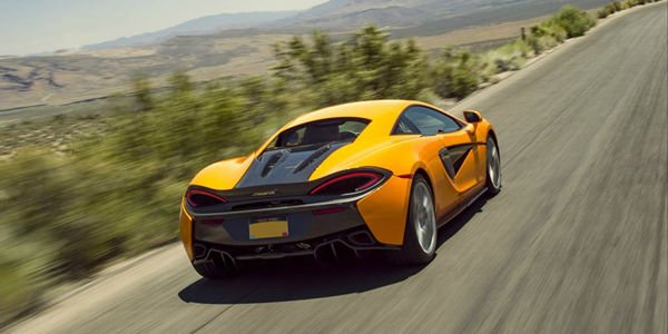 McLaren 570S : production lancée
