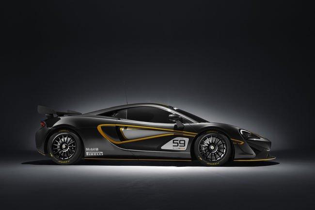 McLaren dévoile la 570S GT4 et annonce la 570S Sprint