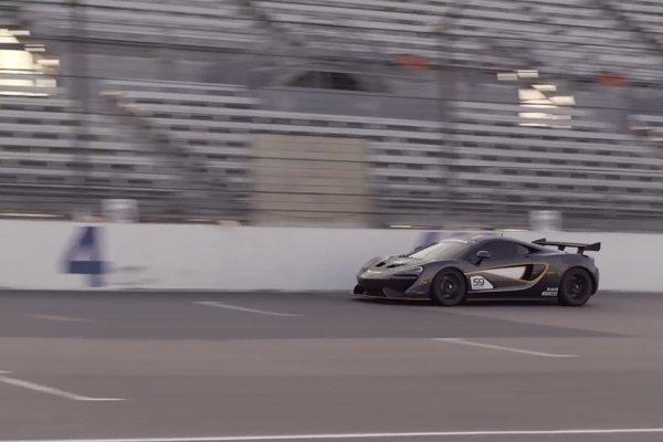 Développement intensif pour la McLaren 570S GT4
