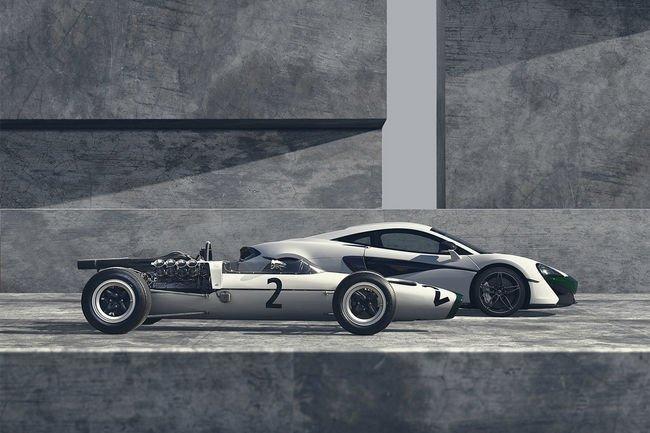 McLaren fête 50 ans de présence en F1 avec une 570S spéciale