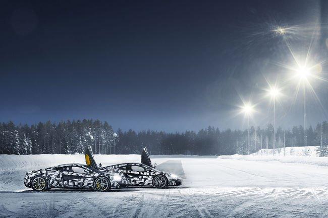 Programme Pure McLaren Arctic Experience