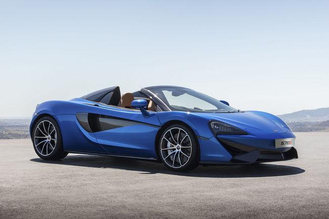 McLaren 570S Spider : la 570S se découvre