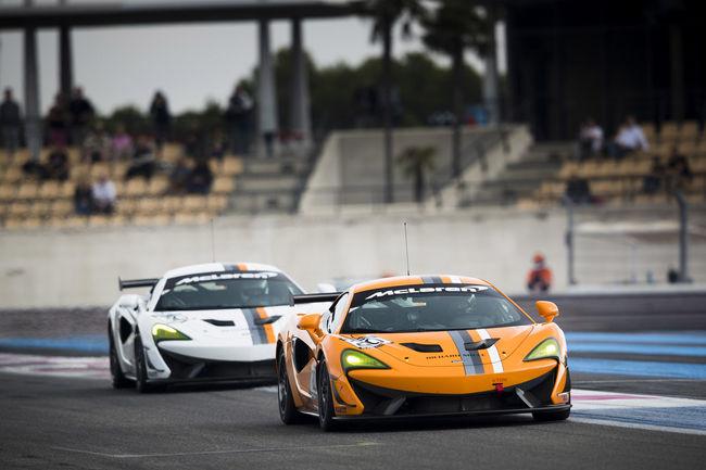 McLaren inaugure la Pure McLaren GT4 Club Race