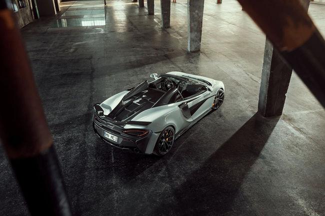 McLaren 570S Spider par Novitec