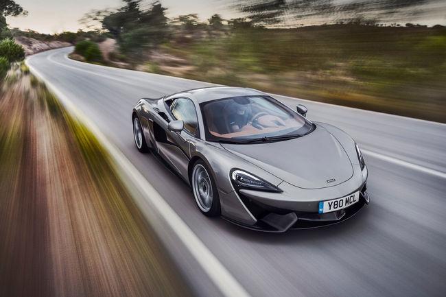 Teaser : une version LT pour la McLaren 570S ?
