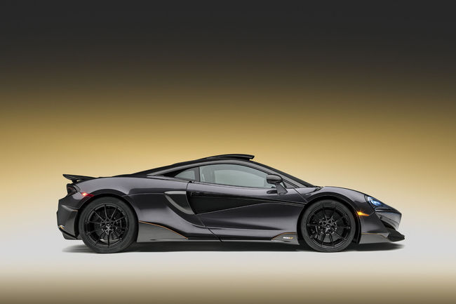 One-off McLaren 600LT Stealth Grey par MSO