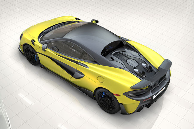 McLaren vous aide à configurer votre 600LT