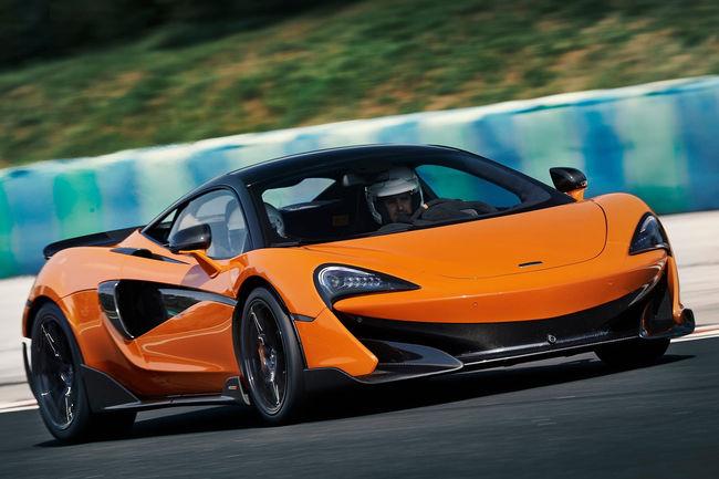 La nouvelle McLaren 600LT Spider en approche
