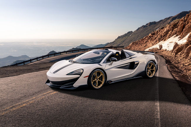 Collection McLaren 600LT Spider Pikes Peak