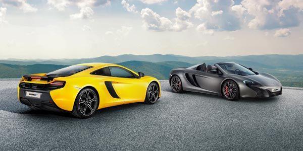 McLaren 625C : seulement pour l'Asie