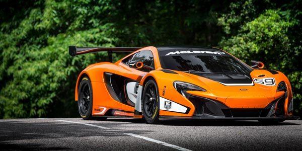 McLaren présente sa 650S GT3 à Goodwood