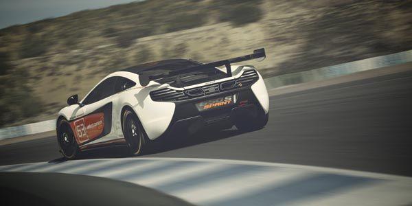 La McLaren 650S Sprint entre en piste