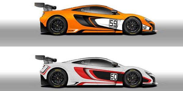 Deux McLaren 650S GT3 aux 12H d'Abu Dahbi