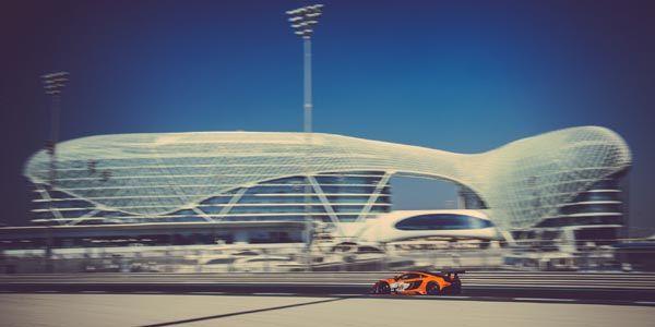 Gulf 12 Hours : la McLaren 650S GT3 sur le podium