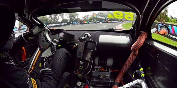 Bathurst : la pole record de McLaren en vidéo