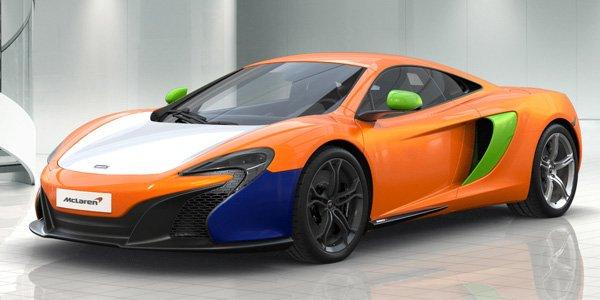 McLaren lance le configurateur de la 650S