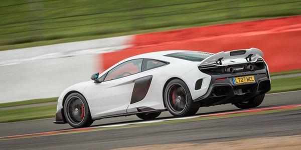 La McLaren 675LT bientôt en version Spider ?