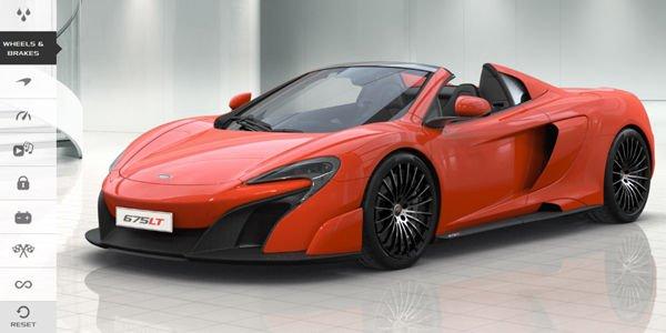 Configurez votre McLaren 675LT Spider