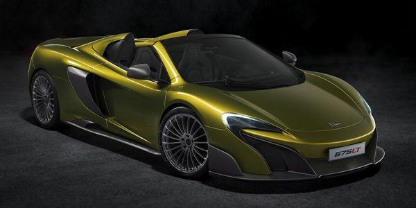 McLaren 675LT Spider : toutes vendues