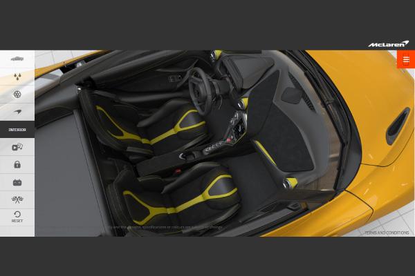 McLaren 720S : le configurateur
