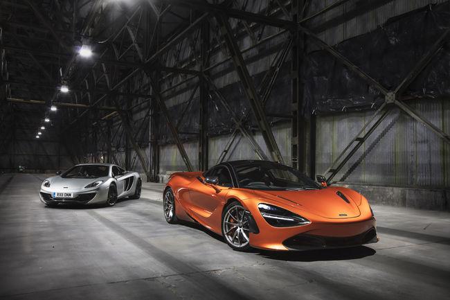 Production lancée pour la McLaren 720S