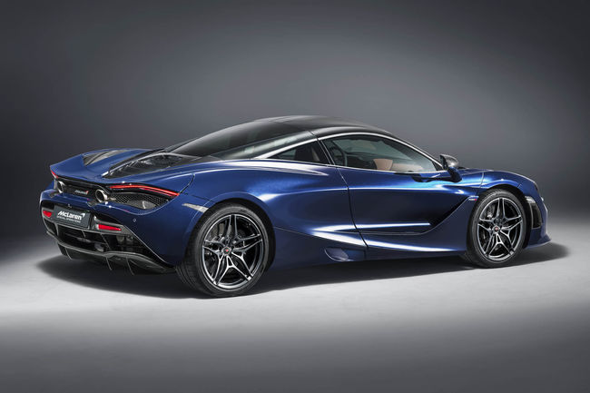 Genève : McLaren 720S Atlantic Blue by MSO
