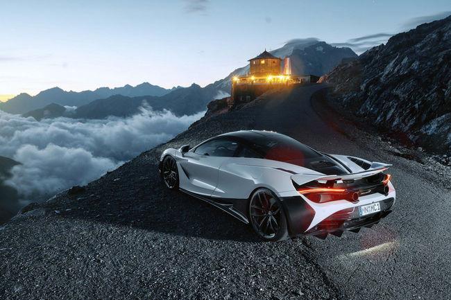 La McLaren 720S revue par Novitec