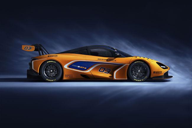 McLaren dévoile la version GT3 de la 720S