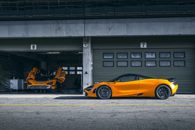 Un Track Pack pour la McLaren 720S