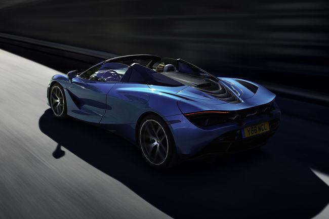 Nouvelle McLaren 720S Spider : décoiffante