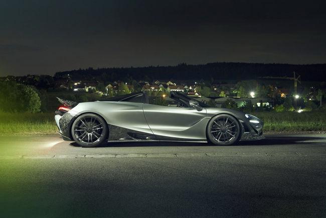 McLaren 720S Spider par Novitec