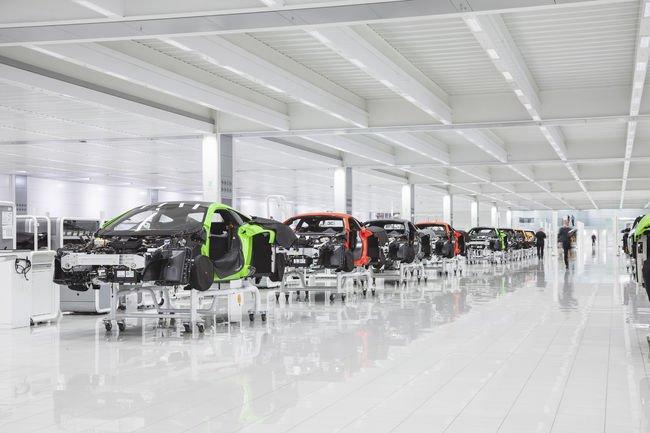 Une Supercar électrique à l'étude chez McLaren